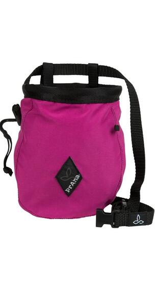 Prana Solid Chalk Bag with Belt Berry